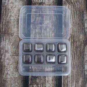 🎀3/$30 Set Of Steel Ice Cubes